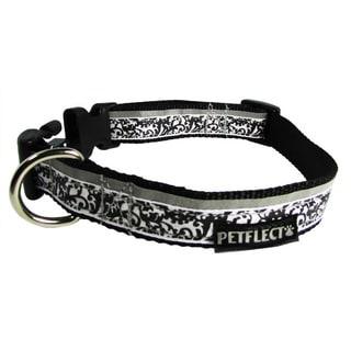 Petflect Damask Reflective Dog Collar