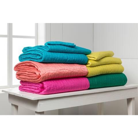 Joplin Solid Color Cotton/Silk Quilt