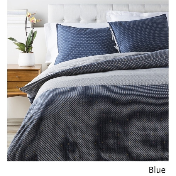 Brenda Dot Cotton/Flax Duvet Cover