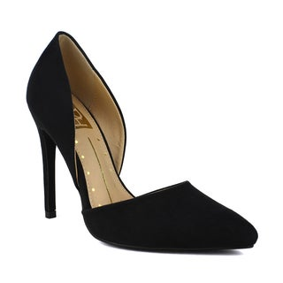 Fahrenheit Women's Yuri-01 D'Orsay Pointy Toe Women's High Heel Pump