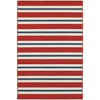 Laurel Creek Josie Horizontal Striped Area Rug  - 7'10 x 10'10
