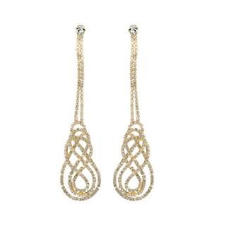 Fancy Rhinestone Vintage Dangle Earrings