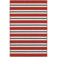 Laurel Creek Josie Horizontal Striped Area Rug  - 6'7 x 9'6