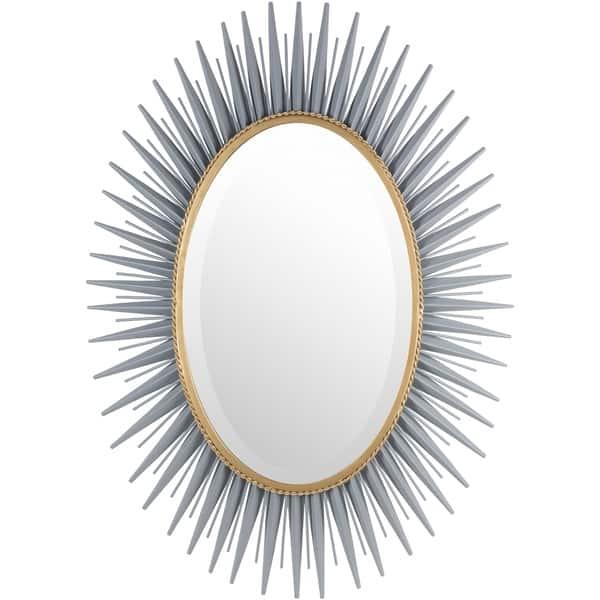 Haley Sunburst Oval Accent Mirror 30 X 42 30 X 42 30 X 42 Overstock 10635071