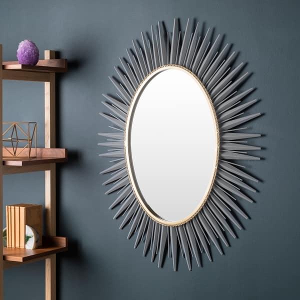 Haley Sunburst Oval Accent Mirror 30 X 42