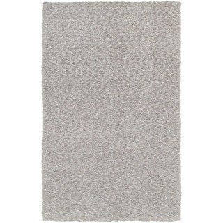 "Carson Carrington Farum Heathered Grey Shag Rug - 6'6"" x 9'6"""