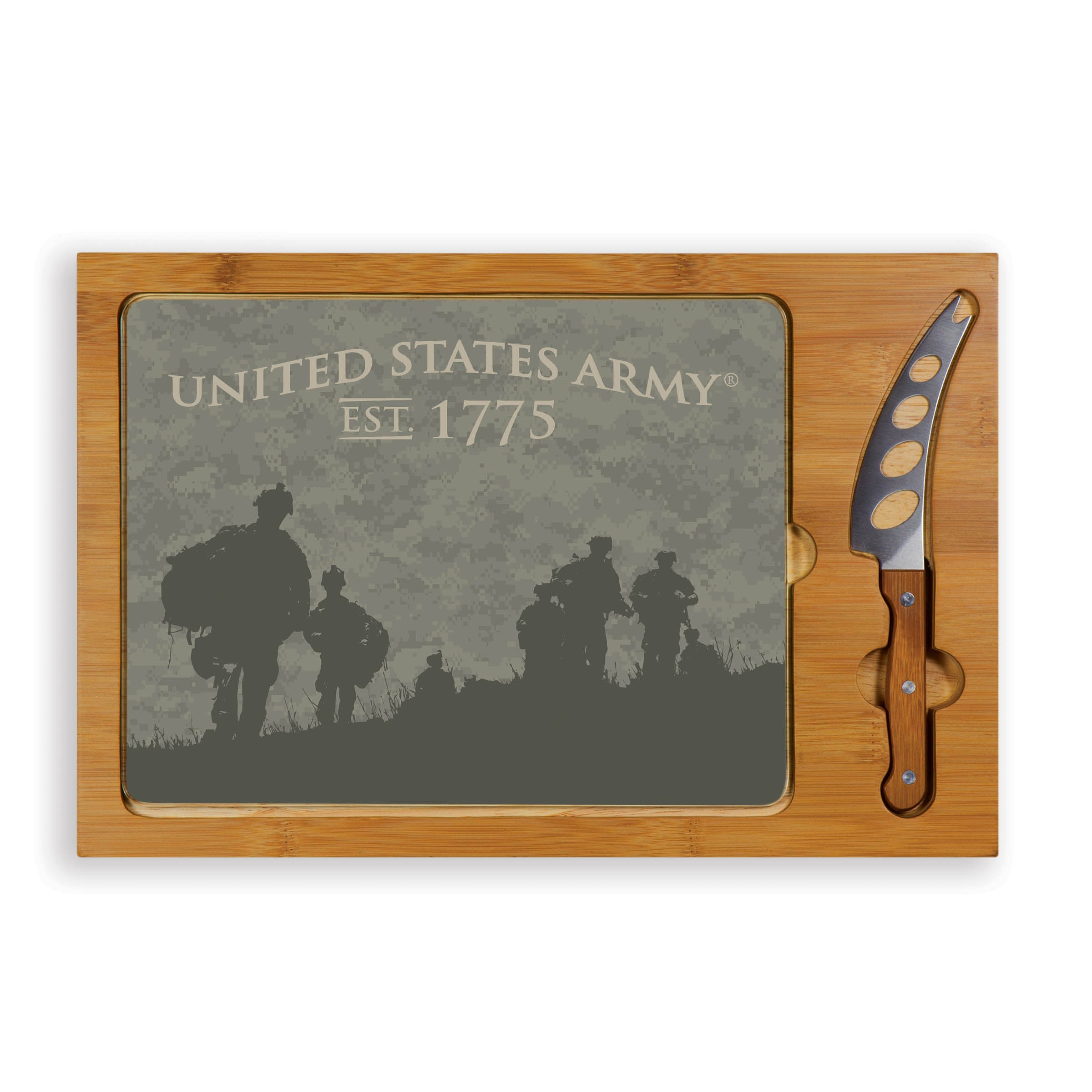 Toscana Legacy Icon Soldier Silhouettes Cutting Board (Le...