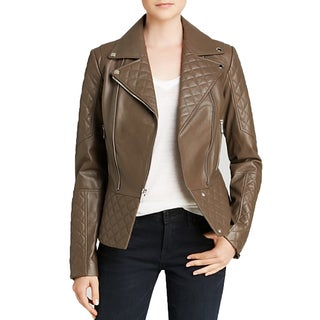DL2 by Dawn Levy Women's Motorcycle Leather Jacket