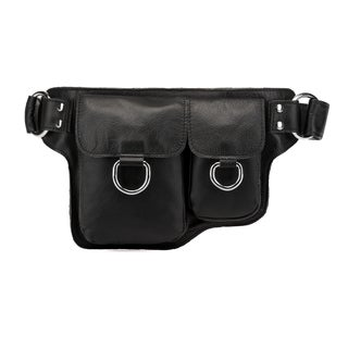 Vicenzo Leather Alvere Leather Waist pack Belt Bag
