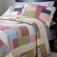 Windsor Home Savannah Quilt Set - Multi-color
