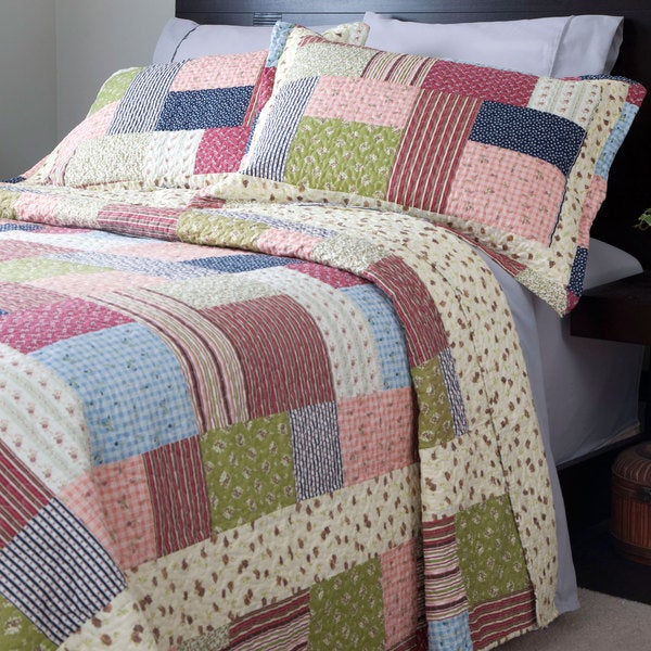 Windsor Home Savannah Quilt Set - Multi-color