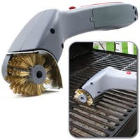 Chef Buddy Cordless Motorized Outdoor Grill Cleaning Brush