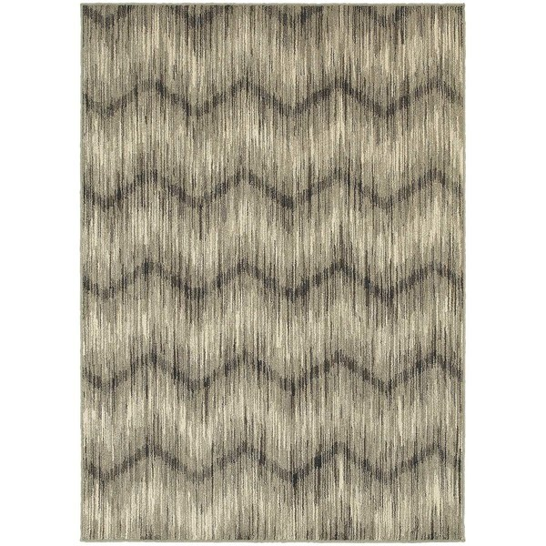 The Gray Barn Cattail Abode Chevron Ikat Rug. Opens flyout.