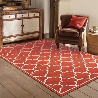 StyleHaven Lattice Indoor-Outdoor Area Rug