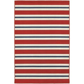Laurel Creek Josie Horizonal Striped Area Rug (5'3x7'6)