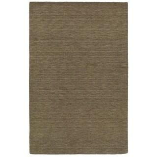 Handwoven Wool Heathered Green Rug (6' X 9')