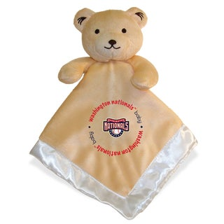 Baby Fanatic MLB Washington Nationals Snuggle Bear - Brown
