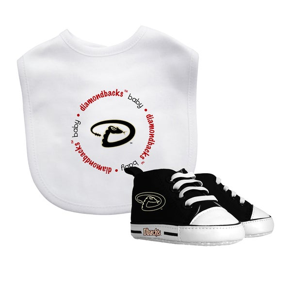 Arizona Diamondbacks Bib and Pre-Walker Shoes Gift Set