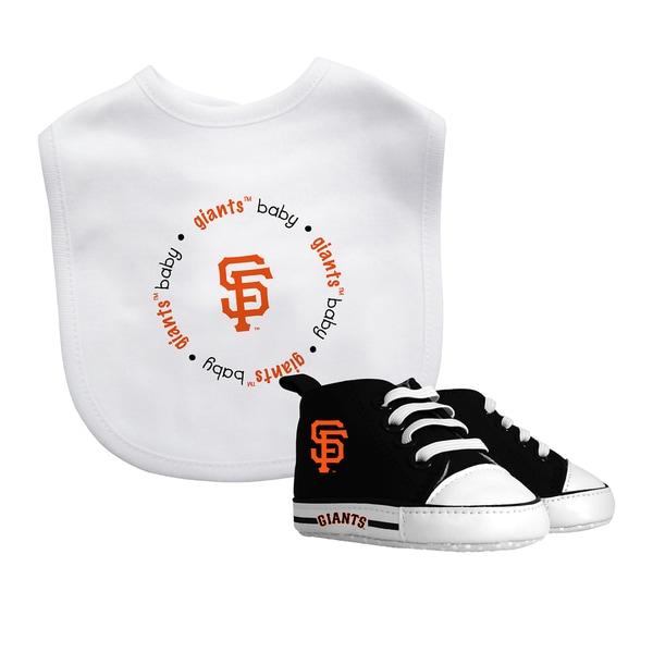 San Francisco Giants Bib and Pre-Walker Shoes Gift Set