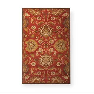 Hand-Tufted Patchway Wool Area Rug (5' x 8') - 5' x 8'