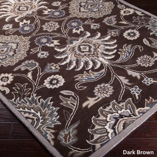 Hand-Tufted Patchway Wool Area Rug (5' x 8') (More options available)