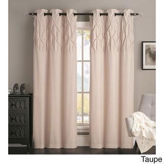 Brown, Grommet Curtains & Drapes - Shop The Best Deals For Apr 2017