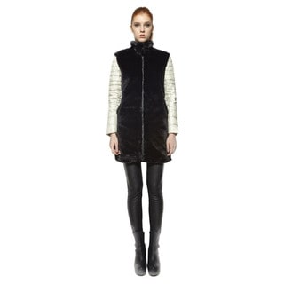 Snowman Women's 'Teddy' Down Coat