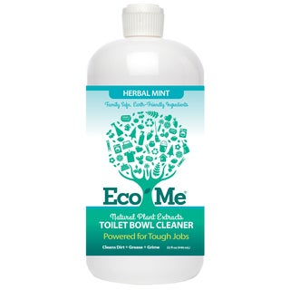 Eco-Me 32-ounce Natural Herbal Mint Toilet Bowl Cleaner (Pack of 6)