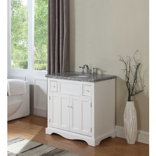 crawford u0026 burke morton 35inch vanity base with stone top and sink