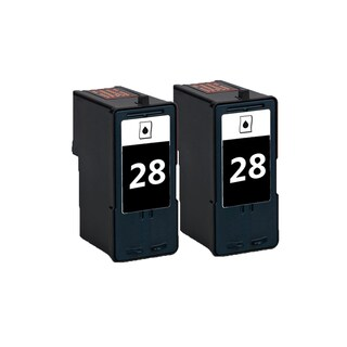 2 Pack 18C1428 (#28) Black Compatible Ink Cartridge For Lexmark X2500/X5075 (Pack of 2)