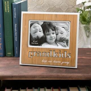 'Grandkids' Wood Frame