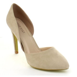 ANNIE PINKY KARA-06 Women's Chic Basic D'orsay Dress Pumps