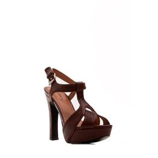 Gomax Women's Cliff Hanger-02 T-Strap Plaform Sandal