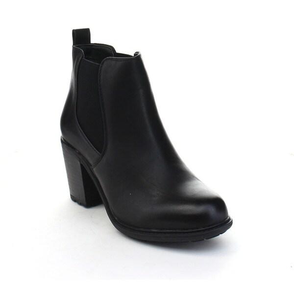 c1bfbf7841f Shop VIA PINKY NORA-93 Women s Basic Slip On Stacked Heel Ankle ...