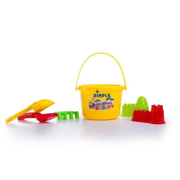 Dimple Fun in the Sun Colorful Beach Toys Set