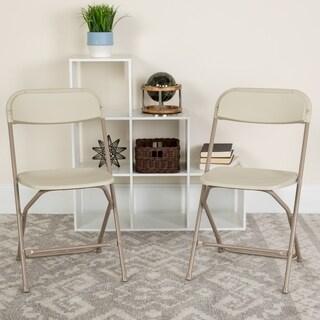 Hercules Series 800-pound Capacity Premium Plastic Folding Chair