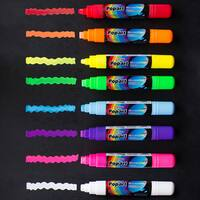 Large 10mm Fluorescent Chalk Markers (Set of 8)