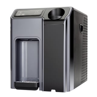 Global Water G4CT Hot and Cold Countertop Water Cooler with Reverse Osmosis, UV Light, and Nano Filter