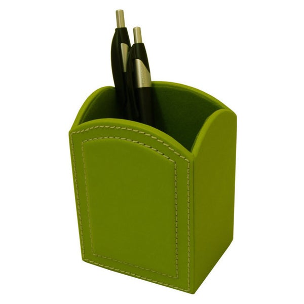 Ordinaire Shop Dacasso Colors Pencil Cup   Lime Green   Free Shipping On Orders Over  $45   Overstock.com   10639007
