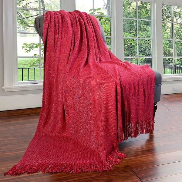 Bedford Cottage Shimmer Collection Throw