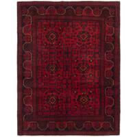 Ecarpetgallery Finest Khal Mohammadi Red Wool Area Rug - 4' x 6'