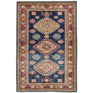Ecarpetgallery Finest Gazni Blue Wool Area Rug (2' x 3')