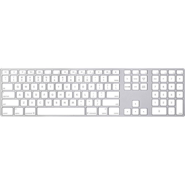 shop apple keyboard with numeric keypad free shipping today overstock 10639134. Black Bedroom Furniture Sets. Home Design Ideas