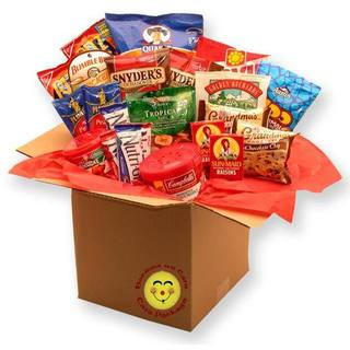 Healthy Choices Deluxe Snacks Care Package
