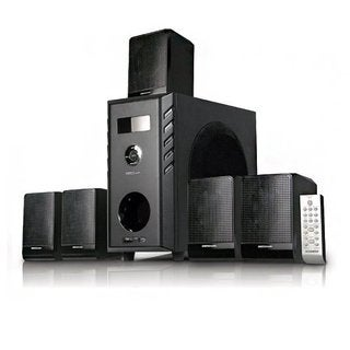 Acoustic Audio AA5104 600-watt 5.1-channel Home Theater Surround Sound Speaker System