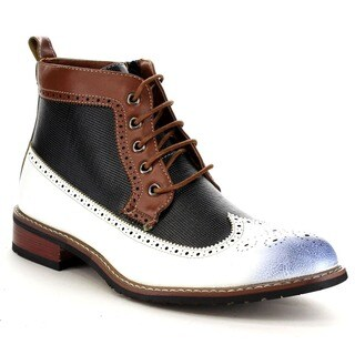 FERRO ALDO MFA-806278 Men's Wing Tip Brogue Ankle Boot