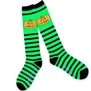 Women's Halloween Fun Crew Knee-High Sock Single Pair