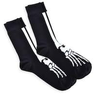 Men's Skeleton Novelty Fashion Crew Socks