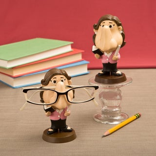 Teacher Female Eyeglasses Holder