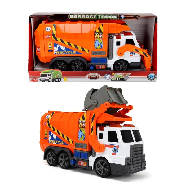 Dickie Toys Action Series 26-Inch Garbage Truck